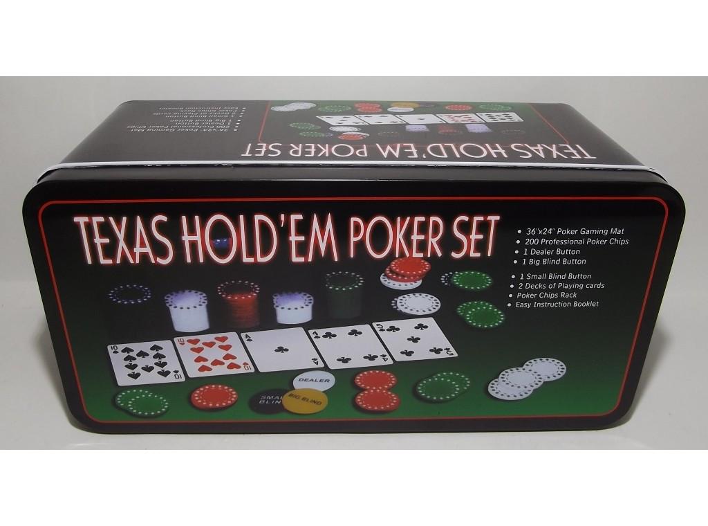 Покер метал 200 фишек i3-96