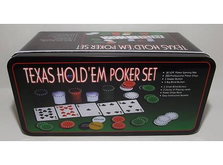 Покер метал 200 фишек i3-96 , фото 2