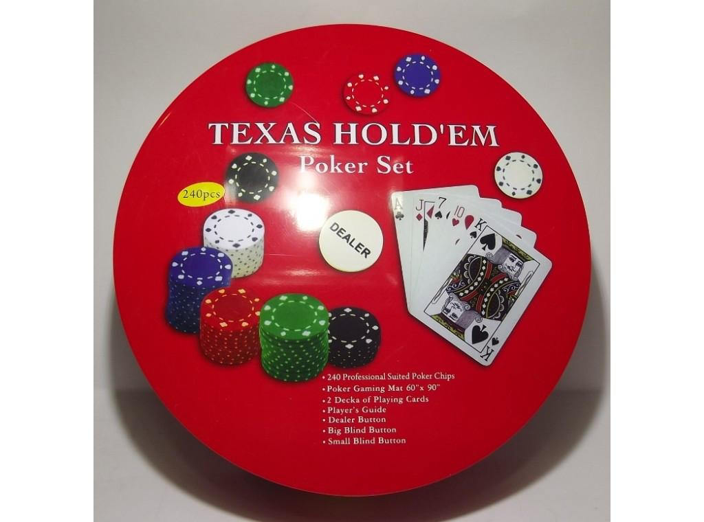 Покер метал 240 фишек i3-98