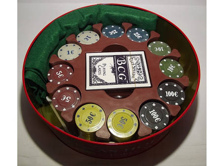 Покер метал 240 фишек i3-98 , фото 2