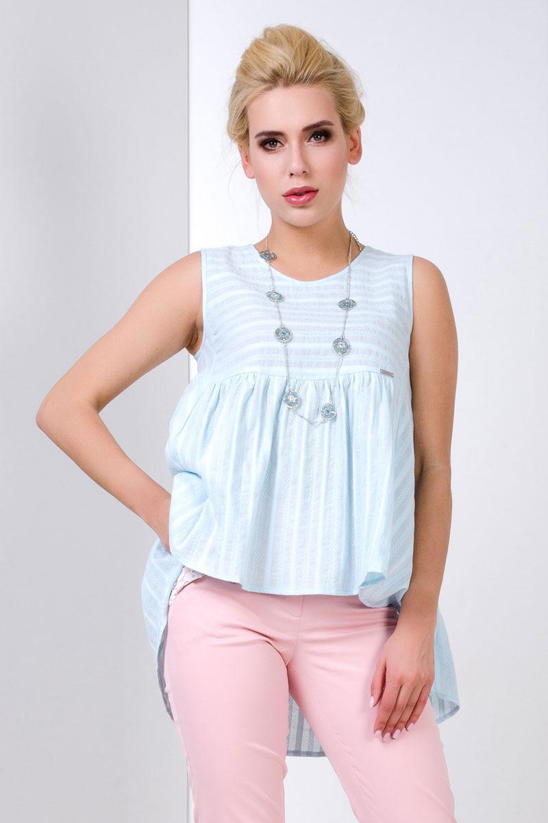 2017 блуза Али, голубой (40-42)