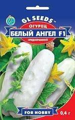 Огурец Белый ангел, пакет 0,4г - Семена огурцов, фото 2