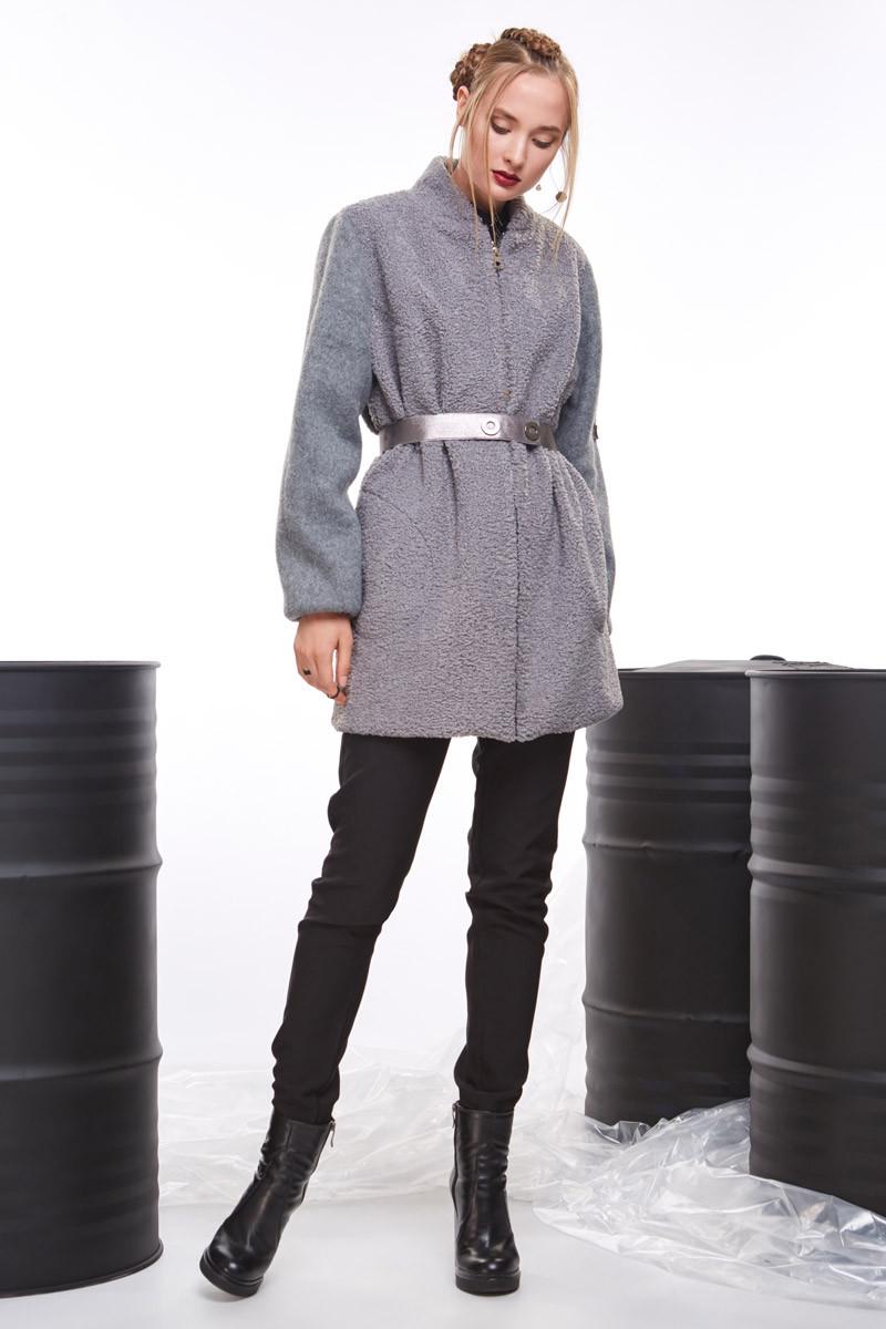 2071 пальто-бомбер Вади, серый (42-44)