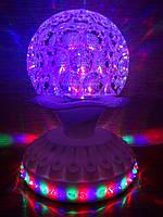 Диско лампа - шар вращающаяся LED Magic Ball Light