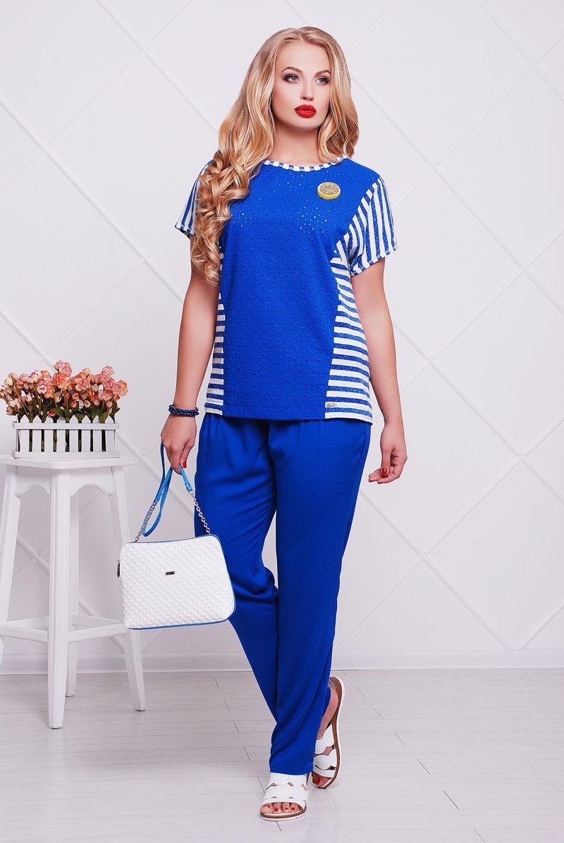 2052 брюки Хайди, синий (44)