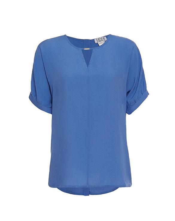 1601 блуза Кэтрин, голубой (42-44)