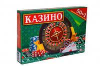 """Настольная игра """"Казино ТехноК"""" 50+1 игра 1813"""