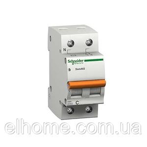 Автоматичний вимикач 2P ВА63 C-6A