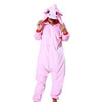 Пижама единорог, светло розовый, фото 1