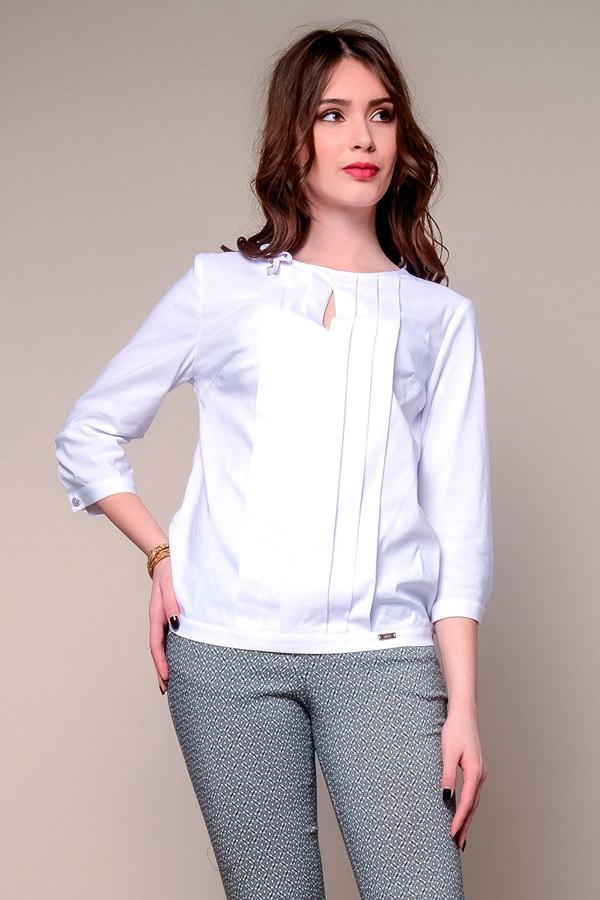 1847 блуза Верту, белый (48)