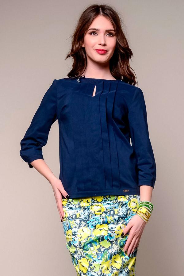 1847 блуза Верту, темно-синий (44)