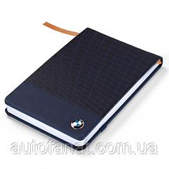 Оригинальный небольшой блокнот BMW Notebook, Small, Dark Blue (80242454636)