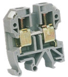 Клеммник JXB-35 серый (10-35ø), на DIN-рейку, 125 А, 18x50x63,5mm, CNC