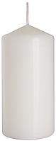 Декоративная свеча цилиндр BISPOL sw60/120-x белая (12 см)