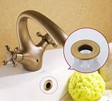 Акционный набор смесителей для ванны и умывальника А-003, фото 5