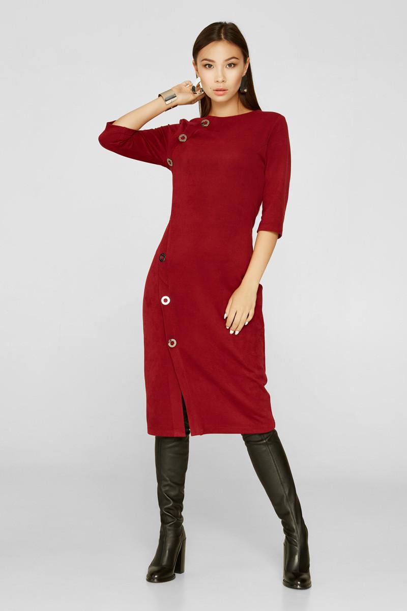 2220 платье Кими, вишня (44)