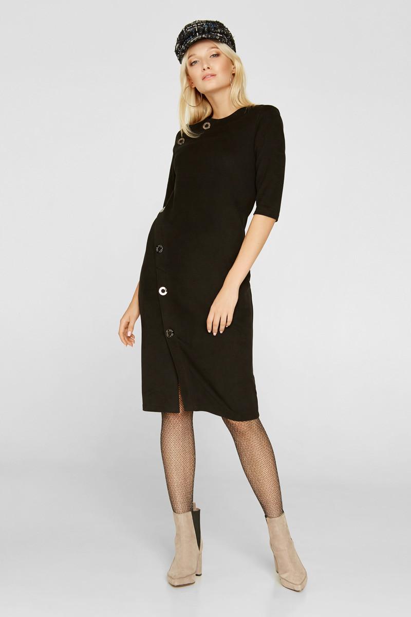 2220 платье Кими, черный (44)