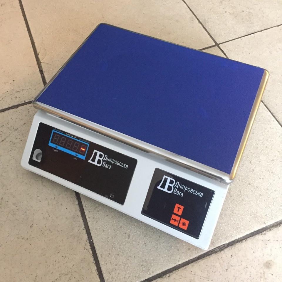 Весы настольные фасовочные ВТЕ-Т3-ДВЭ от 3кг до 30кг (335х225мм)