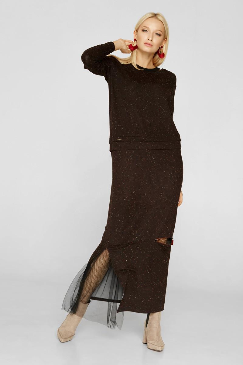 2222 платье Эдит, черный (S)