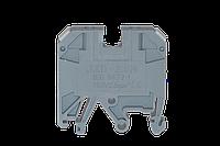 Заглушка для клеммника JXB 2,5 серая, CNC