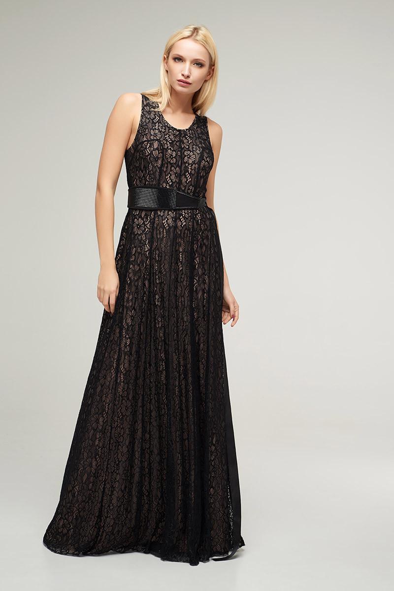2255 платье Риана, черный (S)
