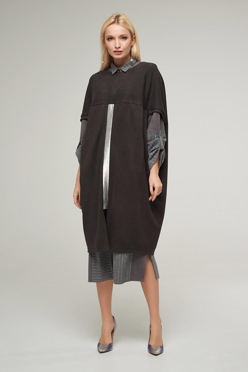 2254 платье Абби, антрацит (S)