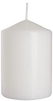 Декоративная свеча цилиндр sw70/100 белая BISPOL (10 см)