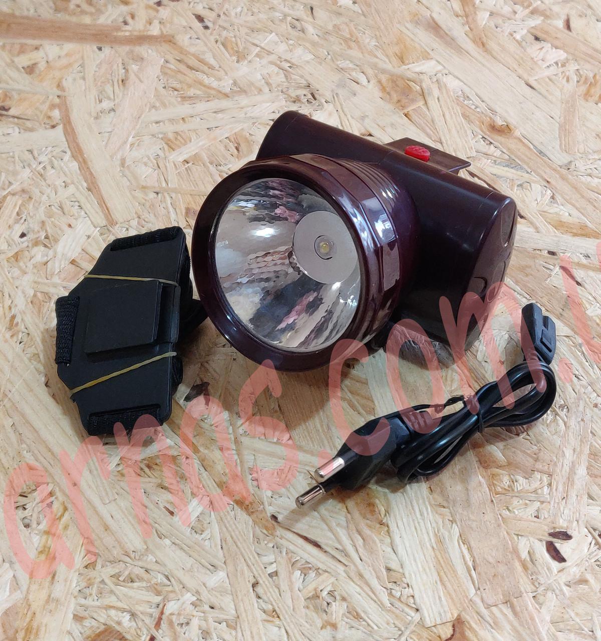 Аккумуляторный налобный фонарь Yajia YJ-1858A