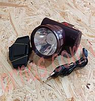 Аккумуляторный налобный фонарь Yajia YJ-1858A, фото 1