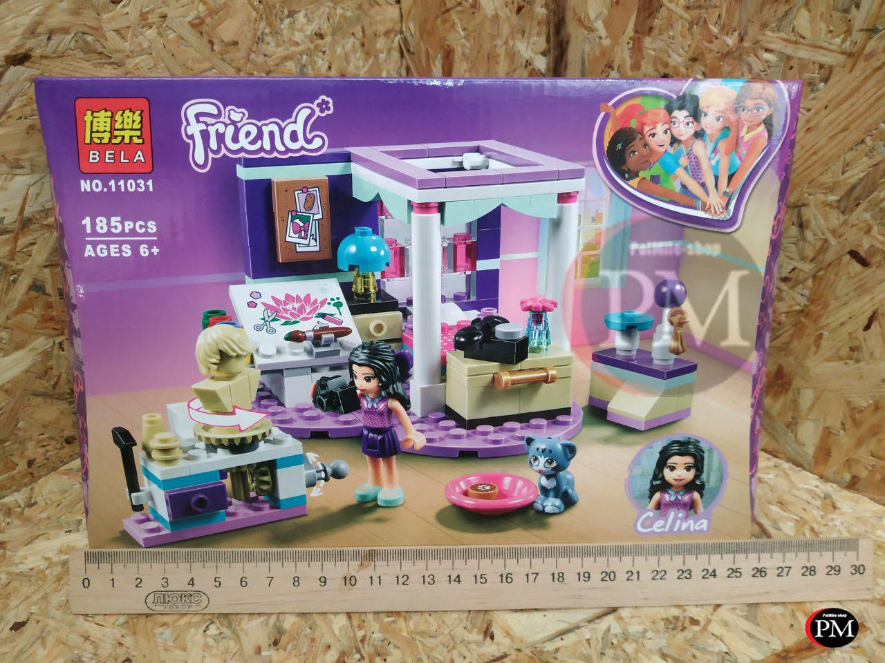 "Конструктор Friends Bela 11031 ""Роскошная комната Эммы"" (аналог Lego Friends 41342), 185 дет"