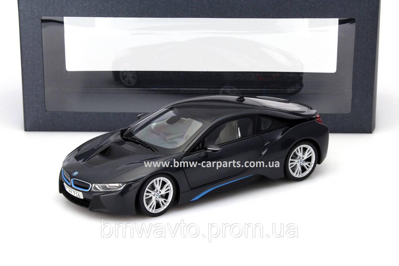 Модель автомобиля BMW i8 (i12), 1:18 scale, Sophisto Grey, фото 2