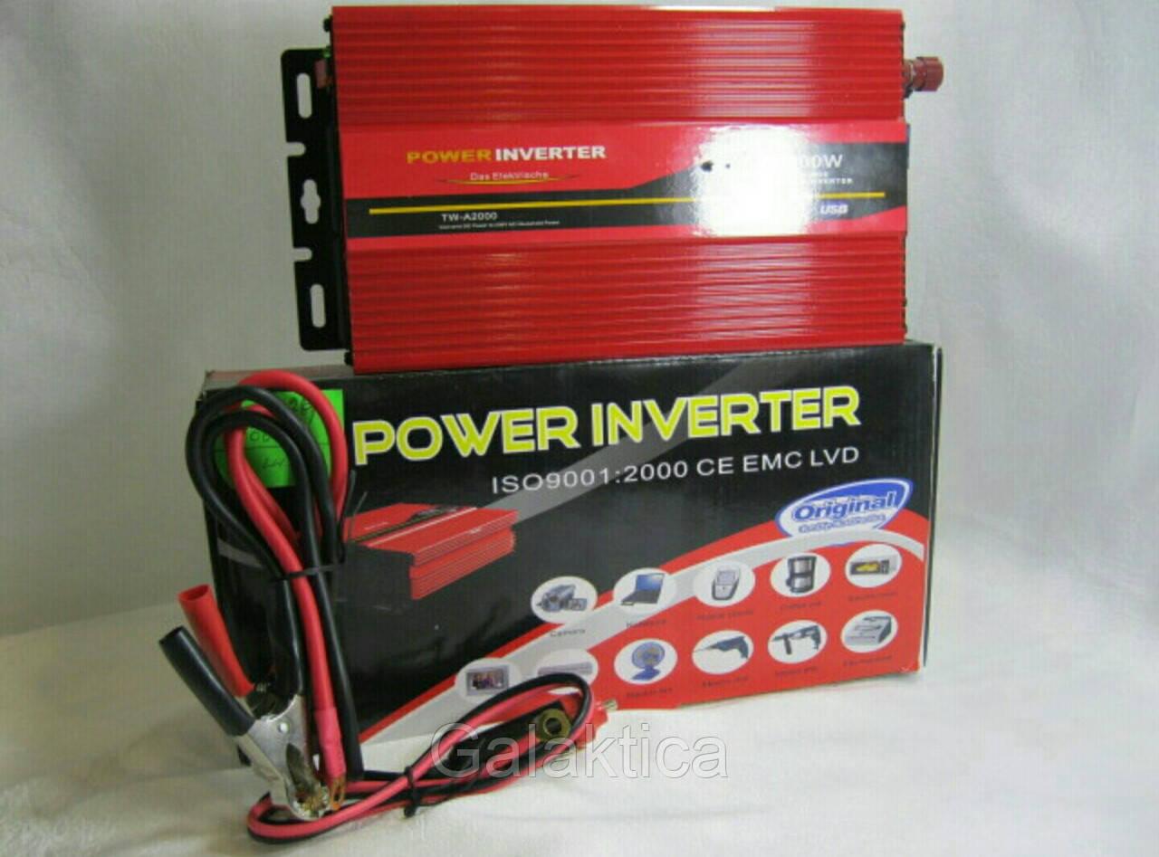 Преобразователь Power inwenter 2000W