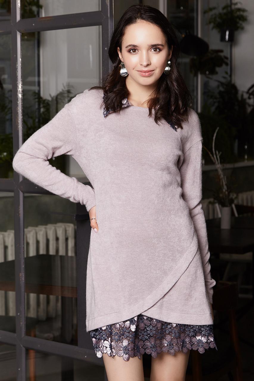 2284 платье Анжело, пудра (S)