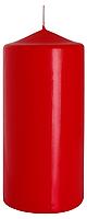 Декоративная свеча цилиндр sw70/150 красная BISPOL (15 см)