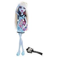 Кукла Монстер Хай Эбби Боминейбл Пижамная вечеринка, Monster High Dead Tired Abbey Bominable, фото 1