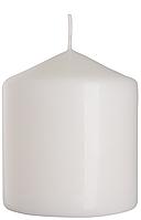 Декоративная свеча цилиндр sw80/90 белая BISPOL (9 см)