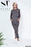 Молодіжний комплект з сукні і топа розміри S-XL, фото 3