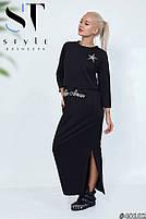 Молодіжний комплект з сукні і топа розміри S-XL, фото 4