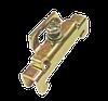 Фиксатор на DIN-рейку, металлический, CNC