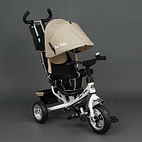 Велосипед  дет. 3-х кол. 6588 (1) /БЕЖЕВЫЙ/ Best Trike, колесо пена