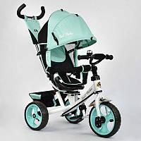 Велосипед 3-х кол. 5700 - 3210 (1) Best Trike /БИРЮЗОВЫЙ/ поворотное сидение, колеса EVA  (пена)