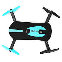 Складной квадрокоптер JUN YI TOYS JY018 дрон с камерой 0.3Mp WiFi