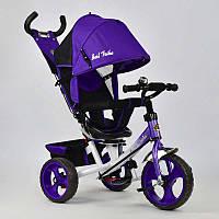 Велосипед 3-х кол. 5700 - 4010 (1) /ФИОЛЕТОВЫЙ/ Best Trike поворотное сидение, колеса EVA  (пена)