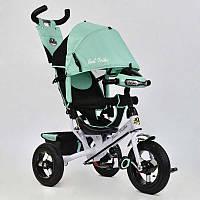 Велосипед 3-х кол. 6588 В - 2360 (1) Best Trike надувные колеса, d=29см. переднее, d=26см задние,фара