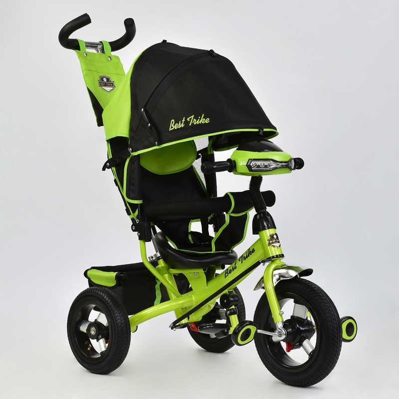 Велосипед 3-х кол. 6588 В - 2690 (1) Best Trike надувные колеса, d=29см. переднее, d=26см задние, фара