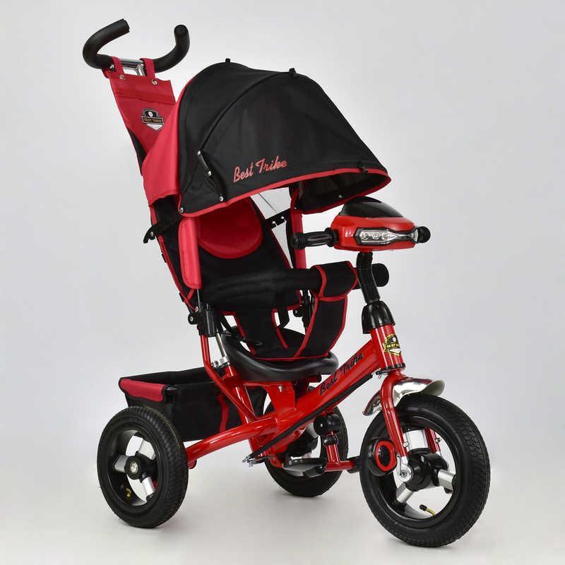 Велосипед 3-х кол. 6588 В - 3030 (1) Best Trike надувные колеса, d=29см. переднее, d=26см задние,фара