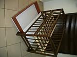 """Акция! Кроватка маятник """"Малыш Люкс"""" с ящиком матрас кокос постельный набор 8 эл., фото 7"""