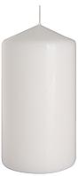 Декоративная свеча цилиндр sw80/150 белая BISPOL (15 см)