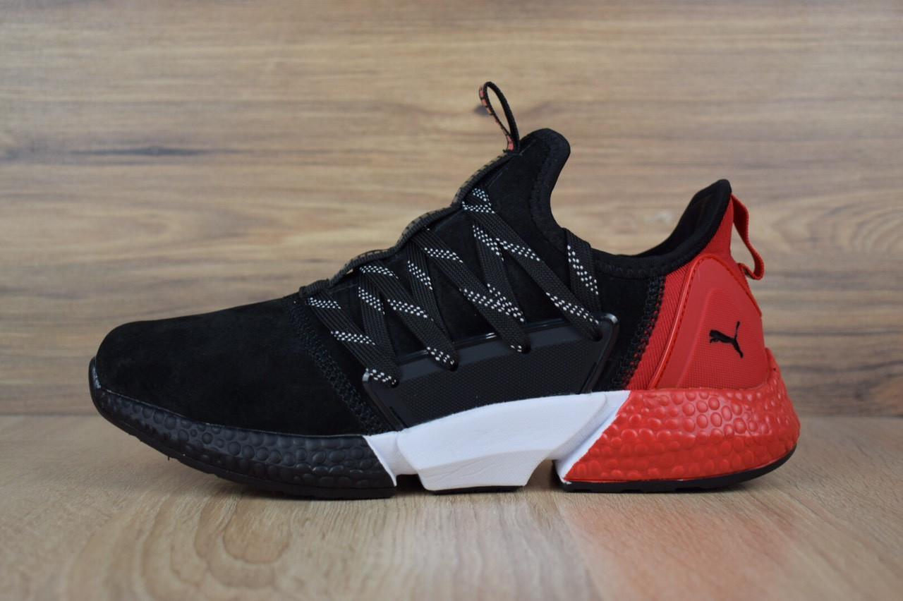 0ada02e25a45bb Чоловіче взуття Puma Hybrid Rocket, чорні з червоним - BEST-CROSS в  Хмельницком