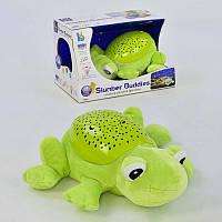 Ночник JLD 333-36 A (36) Лягушонок, с проектором, свет, звук, в коробке